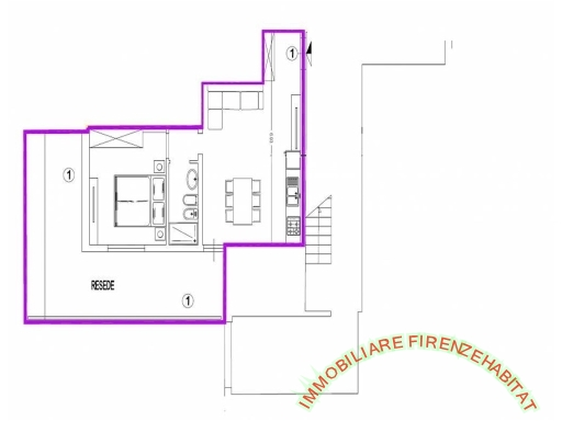 IMMOBILIARE FIRENZE HABITAT - Rif. 1/0175