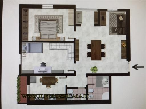 APPARTAMENTO civile abitazione in  affitto a IMPRUNETA - IMPRUNETA (FI)