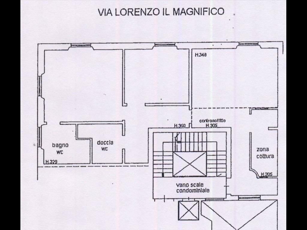 Appartamento in affitto a Firenze zona Piazza liberta' - immagine 16