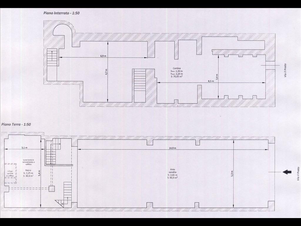 Fondo / Negozio / Ufficio in affitto a Firenze zona Corso italia-porta al prato - immagine 13