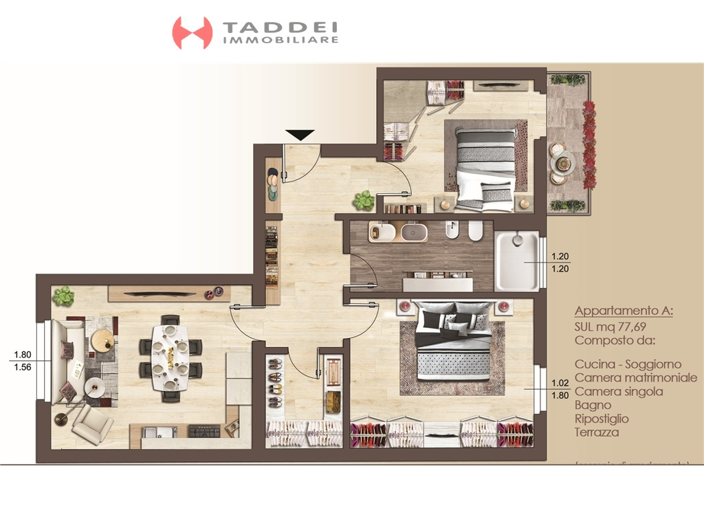 Appartamento in vendita a Firenze zona Coverciano - immagine 1