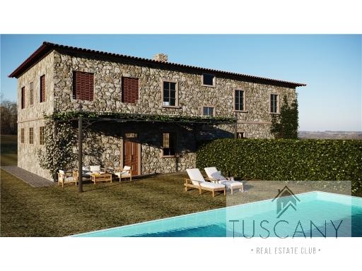 Rustico / Casale in vendita a Barberino Val d'Elsa, 4 locali, zona Località: MONSANTO, prezzo € 280.000 | Cambio Casa.it