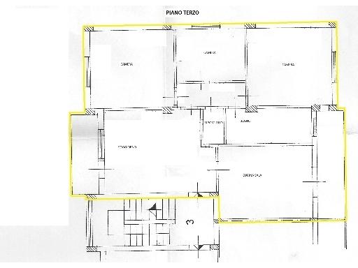 Appartamento in vendita a Montelupo Fiorentino, 5 locali, zona Località: FIBBIANA, prezzo € 195.000 | Cambio Casa.it