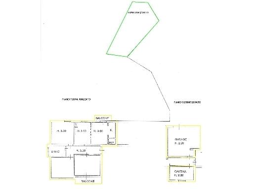 Appartamento in vendita a Montespertoli, 5 locali, zona Località: ANSELMO, prezzo € 200.000 | Cambio Casa.it