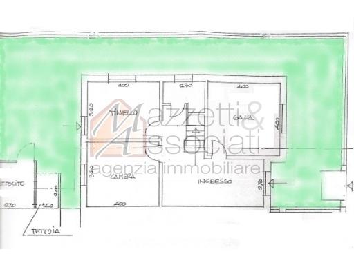 Villa in vendita a Agliana, 6 locali, zona Località: AGLIANA, prezzo € 178.000 | CambioCasa.it
