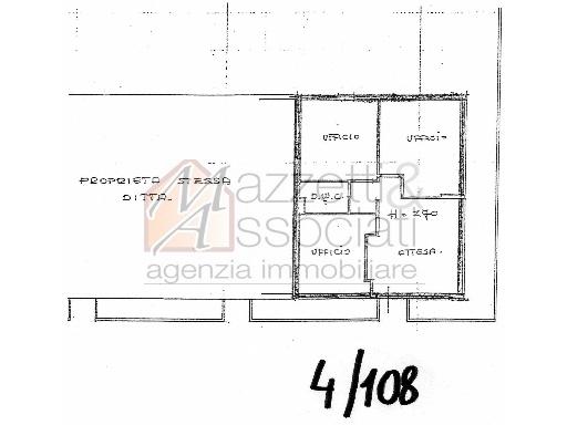 Ufficio / Studio in vendita a Agliana, 4 locali, zona Località: SAN PIERO, prezzo € 180.000   Cambiocasa.it