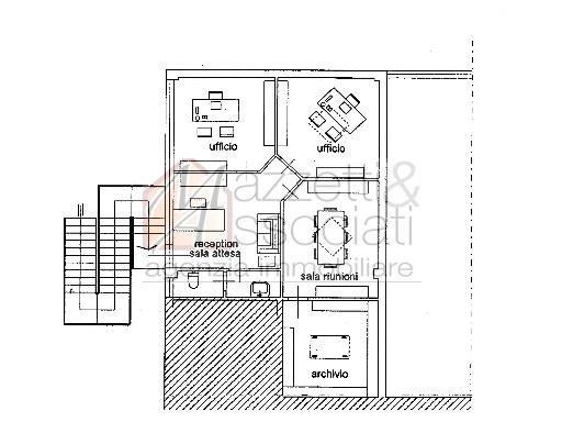 Ufficio / Studio in vendita a Agliana, 3 locali, zona Località: AGLIANA, prezzo € 170.000   Cambiocasa.it